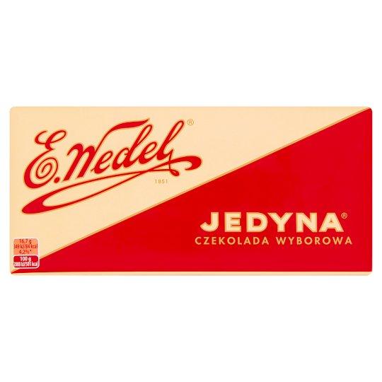 E. Wedel Jedyna Wyborowa Chocolate 100 g