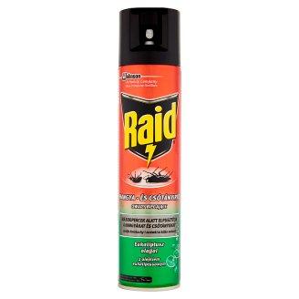 Raid przeciw owadom biegającym z olejkiem eukaliptusowym Aerozol 400 ml