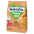 BoboVita Porcja Zbóż 7 Grains Banana Orange Flavour after 10 Months Onwards Milk Porridge 210 g