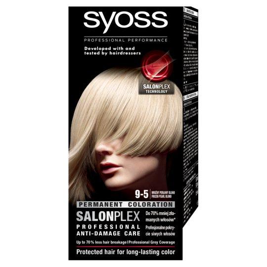 Syoss SalonPlex Hair Colorant Frozen Pearl Blond 9-5