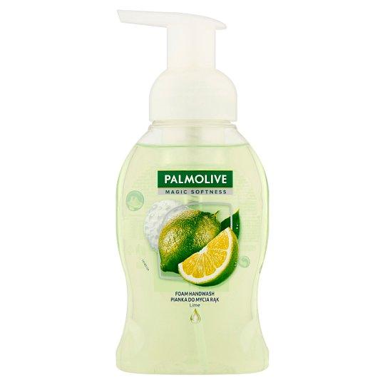 Palmolive Magic Softness Mydło do rąk w piance o zapachu limonki oraz mięty 250 ml