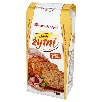 Gdańskie Młyny Chleb żytni Mieszanka do wypieku chleba mieszanego 1 kg