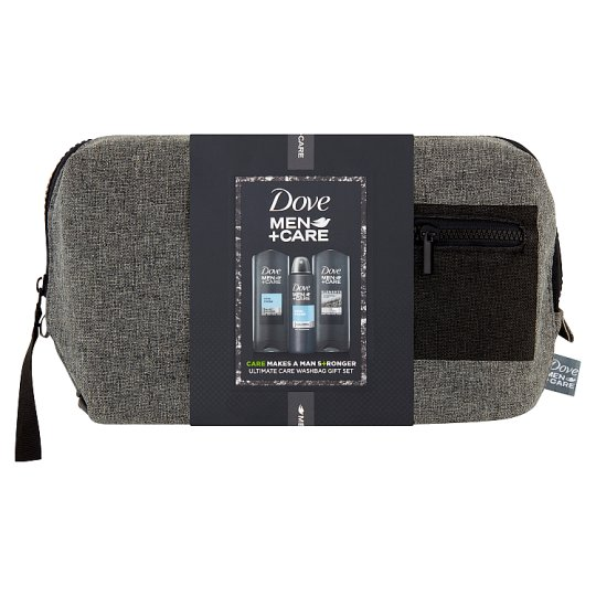 Dove Men+Care Cosmetic Set and Washbag