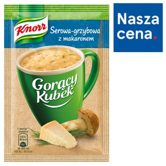 Knorr Gorący Kubek Cheese-Mushrooms with Noodles 17 g