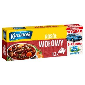 Kucharek Rosół wołowy 120 g (12 kostek)