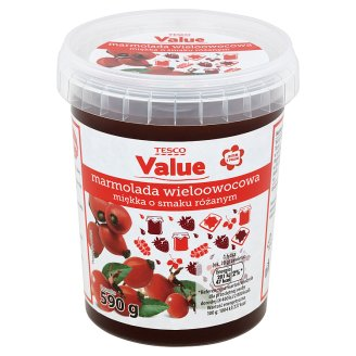 Tesco Value Multifruit Marmalade with Rose Flavour 590 g