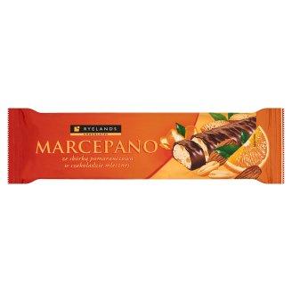 Ryelands Chocolates Marcepano Baton ze skórką pomarańczową w czekoladzie mlecznej 90 g