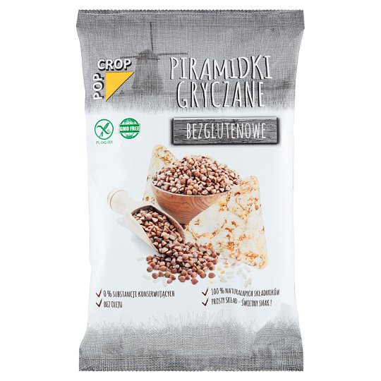Pop Crop Gluten Free Cereal Pyramids 80 g