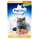 PreVital Naturel Complete Food for Adult Cats with Chicken in Jelly 85 g