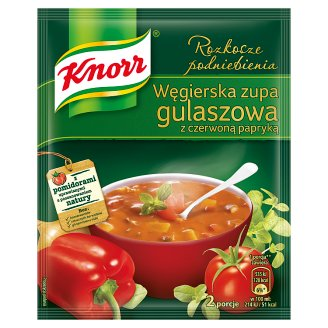 Knorr Rozkosze podniebienia Hungarian Goulash Soup with Red Paprika 60 g
