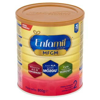 Enfamil Premium 2 Powdered Milk after 6. Months Onwards 800 g