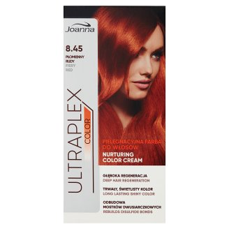Joanna Ultraplex Color Nurturing Color Cream Fiery Red 8.45