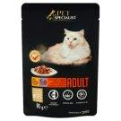 Tesco Pet Specialist Premium Karma dla dorosłych kotów z kurczakiem i indykiem w sosie 85 g