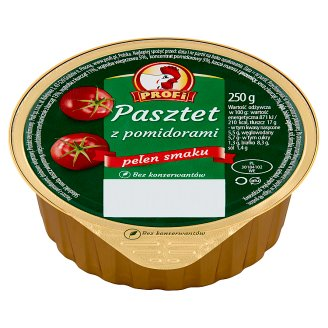 Profi Wielkopolski Pate with Poultry and Tomatoes 250 g