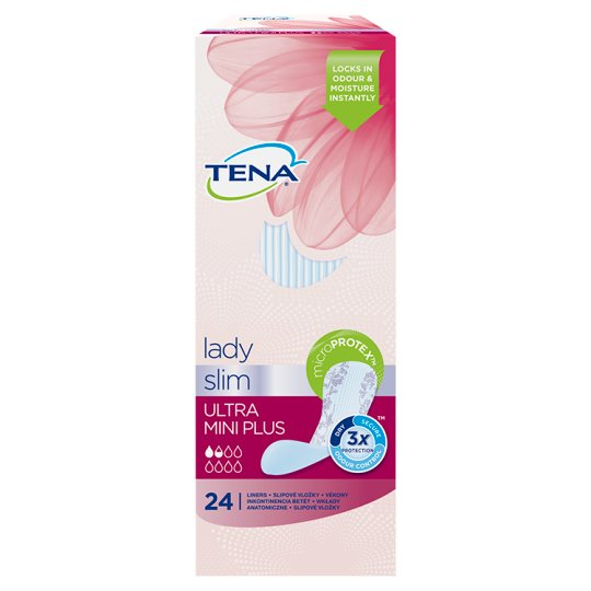 TENA Lady Ultra Mini Plus Specialist Sanitary 24 Pieces