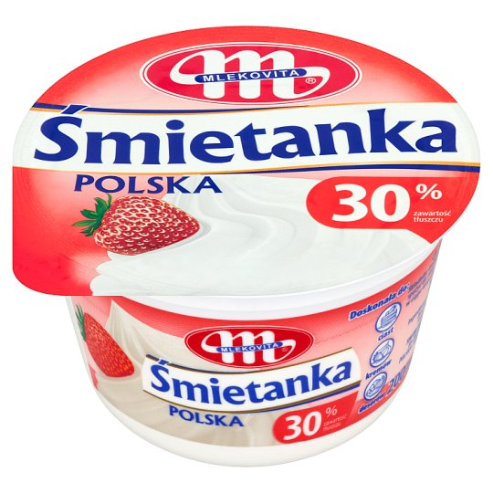 Mlekovita Polish Cream 30% 200 ml