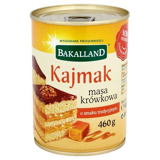 Bakalland Kaymak Caramel Fudge Cream Traditional Flavoured 460 g