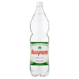 Muszynianka High Mineralized Low Sparkling Natural Mineral Water 1.5 L