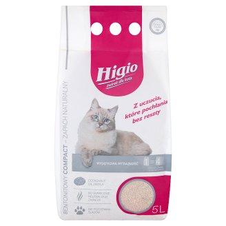 Higio Compact Natural Scent Bentonite Cat Grit 5 L