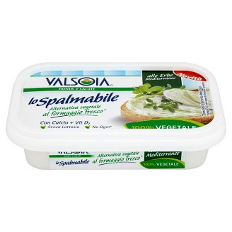 Valsoia Lo Spalmabile Cream Sandwich Paste with Herbs 125 g