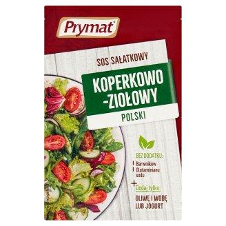 Prymat Sos sałatkowy koperkowo-ziołowy polski 9 g