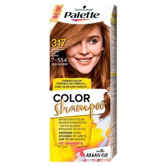 Palette Color Shampoo Szampon koloryzujący Orzechowy blond 317
