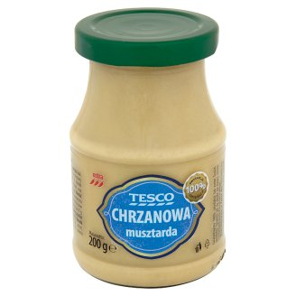 Tesco Chrzanowa musztarda ostra 200 g