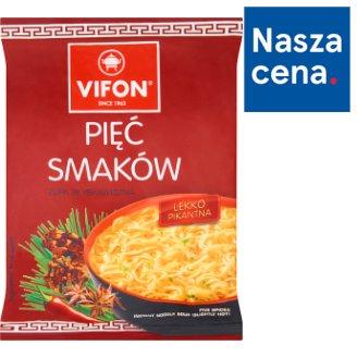 Vifon Five Spices Slightly Hot Instant Noodle Soup 70 g