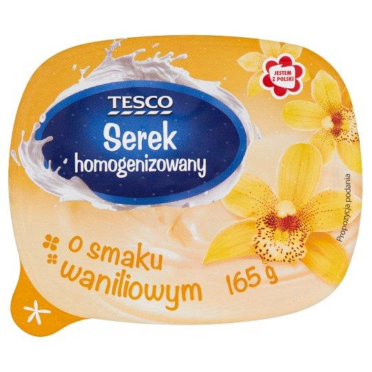 Tesco Serek homogenizowany o smaku waniliowym 165 g
