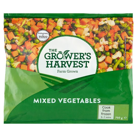 The Grower's Harvest Mieszanka warzywna 750 g