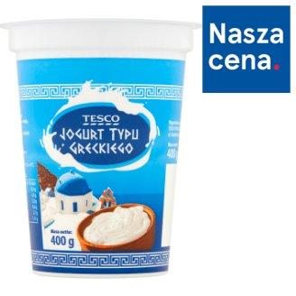Tesco Greek Type Natural Yoghurt 400 g