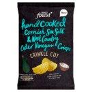 Tesco Finest Chipsy ziemniaczane grubo krojone o smaku soli morskiej i octu jabłkowego 150 g