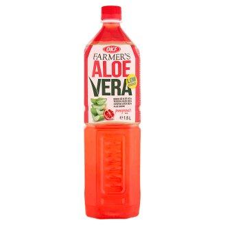 OKF Farmer's Aloe Vera Pomegranate Taste Drink 1.5 L