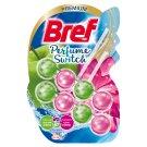 Bref WC Perfume Switch Zawieszka myjąco-zapachowa do muszli WC zielone jabłko-lilia wodna 2 x 50 g