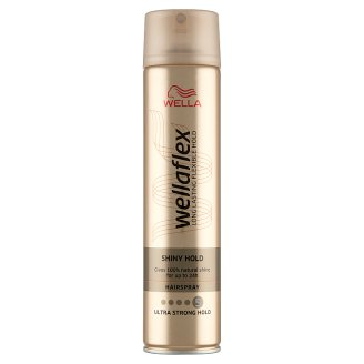 Wella Wellaflex Shiny Hold Ultra Strong Hold Lakier do włosów 250 ml