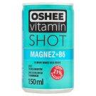Oshee Vitamin Shot Magnez+B6 Niegazowany napój o smaku mango acai i guavy 150 ml