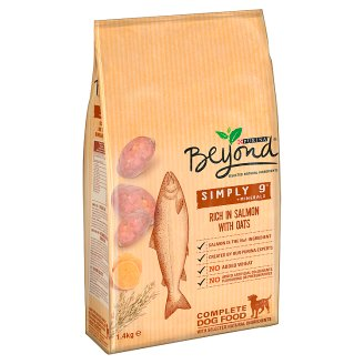 Beyond Simply 9 Rich in Salmon with Oats Complete Dog Food 1.4 kg