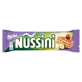 Milka Nussini Wafer with Peanut-Cocoa Filling 31.5 g