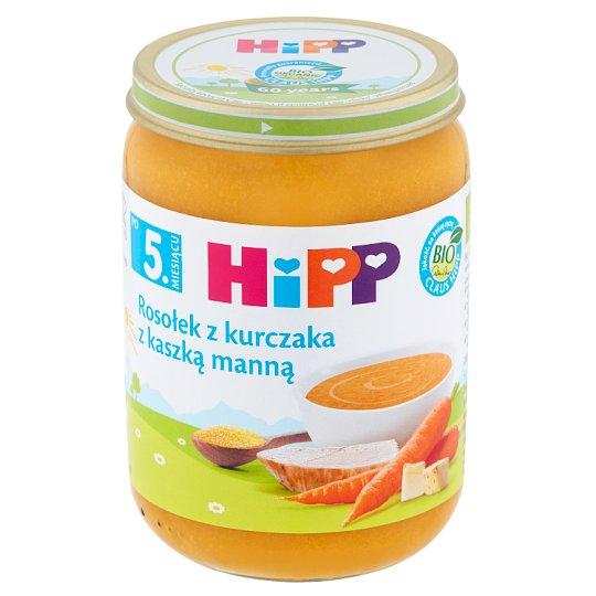 HiPP BIO Chicken Broth with Semolina after 5. Months Onwards 190 g