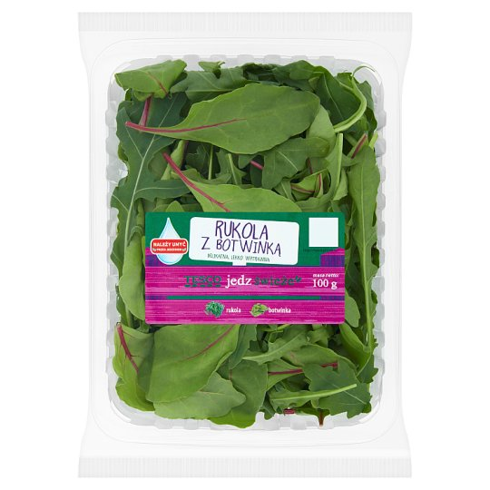 Tesco Rucola with Beet Leaves 100 g