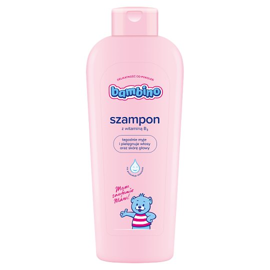 Bambino Shampoo with Vitamin B3 400 ml