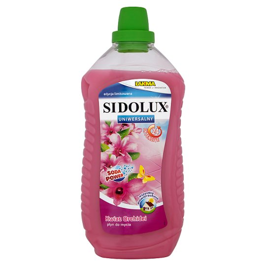 Sidolux Uniwersalny Orchid Flower Liquid Cleaner 1 L