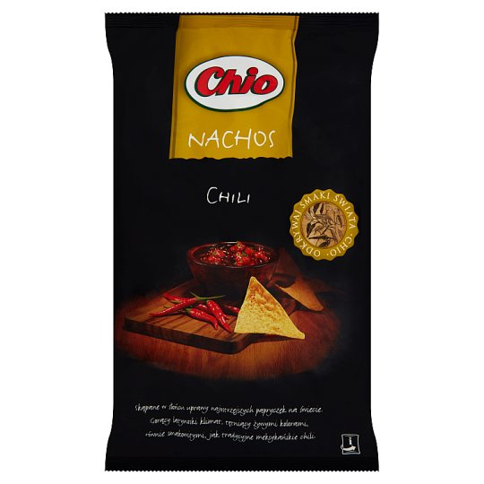 Chio Nachos Chilli Corn Crisps 190 g