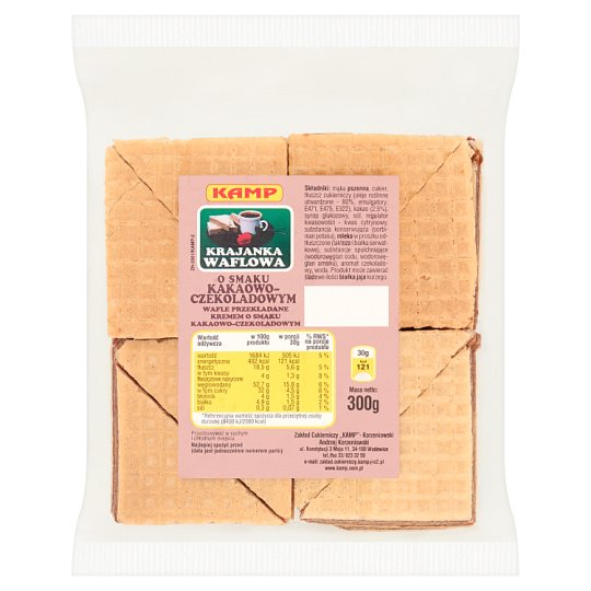 Kamp Cocoa-Chocolate Flavoured Wafers 300 g