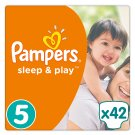 Pampers Sleep&Play rozmiar 5 (Junior), 42 pieluszki