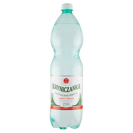 Kryniczanka Lightly Sparkling Natural Water 1.5 L