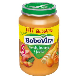 BoboVita Apricots Bananas and Apples after 6 Months Onwards 190 g