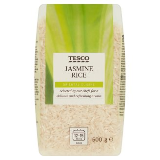 Tesco Jasmine Rice 500 g