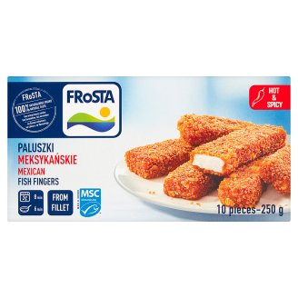 FRoSTA Mexican Fish Sticks from Fillet 250 g (10 Pieces)