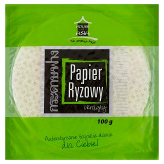 House of Asia Rounded Rice Paper 100 g